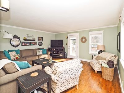 Photo for Spacious, newly updated 3 bedroom, 2.5 bathroom home centrally located