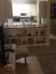 Looking into Kitchen