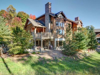 Photo for Plush 2BR Creekside Condo at Boyne Mountain-Slope side with Private Hot Tub!!