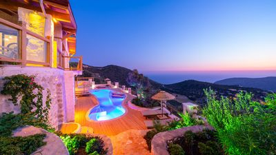 Photo for Kalkan Villa, Sleeps 6 with Pool, Air Con and WiFi