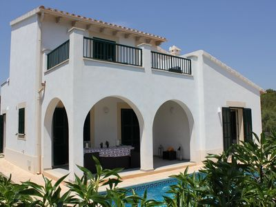 Photo for Can Sivinar, fancy chalet near Cala Mondrago with sea views from the upper floor