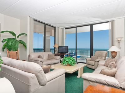 Photo for Relaxing penthouse condo 1101 on the beach