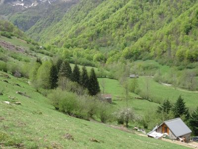 Photo for Renovated barns in the mountains in the Ustou valley in Ariège