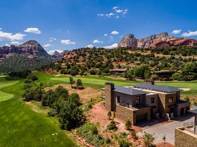 Photo for CDC Approved Cleaning! Complete Luxury + Extras and Red Rock Vistas - Exclusive Golf Community