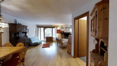 Photo for 2BR Apartment Vacation Rental in Sils/Segl Maria