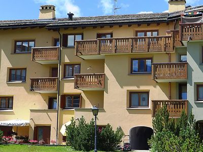 Photo for Apartment Chesa Ludains 8 in St. Moritz - 3 persons, 1 bedrooms