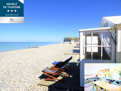 Photo for 50m2 (up to 150m2 in opt) to 30mer + CABIN BEACH