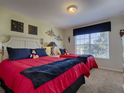 Photo for Escape to a Disney Family Friendly 5 BR/ 5 BA  with South Facing Pool