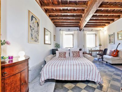 Photo for Navona Palace Music, lovely studio, ideal for a romantic getaway in the Eternal City, near P.Navona