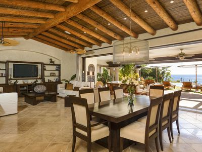 Photo for Immaculate 6 bedroom villa in the world-renowned golf community of Cabo del Sol