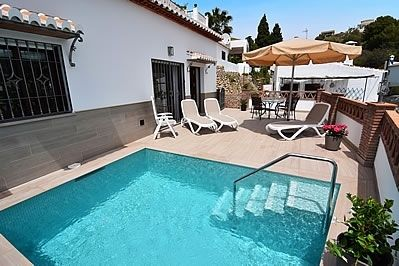 Photo for 2 bedroom Villa, sleeps 4 in Nerja with Pool, Air Con and WiFi
