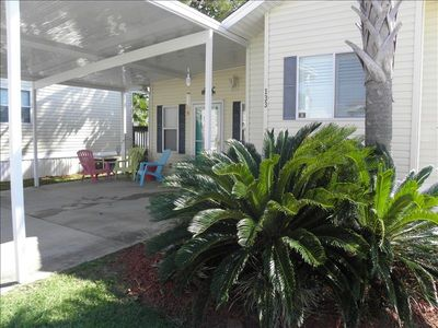 Photo for Panama City Beach...the quiet side!  Covered parking at your door!