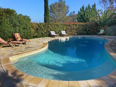 Photo for Stunning private villa for 6 people with private pool, WIFI, TV and parking