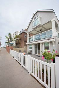 Location!! Steps from the beach *6 houses in) on north sunny side of the court.