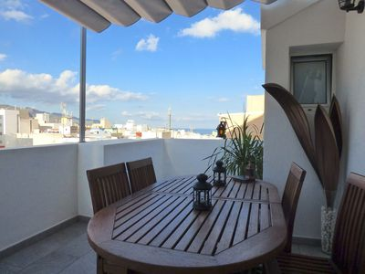 Photo for Beautiful penthouse in downtown Santa Cruz with Panoramic Views