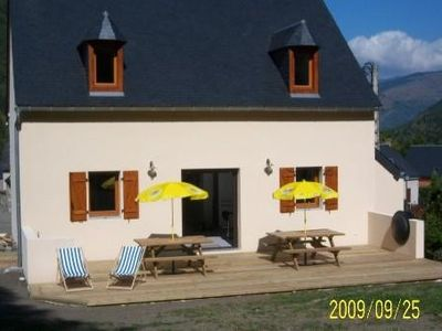 Photo for House in TRAMEZAIGUES in small village mountain 5 'of Saint Lary for 10