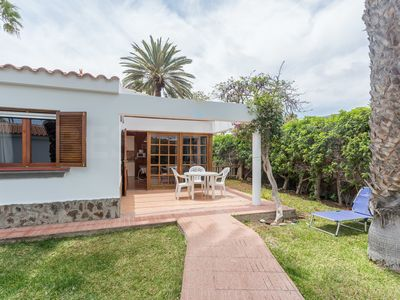 Photo for Lovely bungalow in quiet complex in Maspalomas