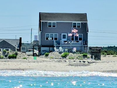 Photo for Direct Oceanfront House on Humarock Beach - Available 8/24-8/31 and 8/31 to 9/7!