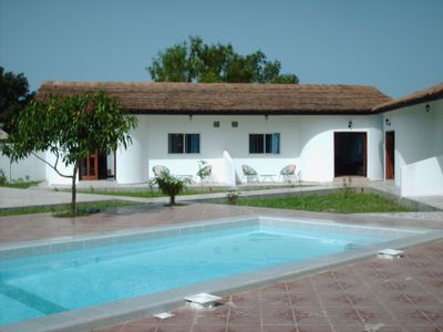 Photo for Self catering apartment with pool, near beaches, excellent location, The Gambia