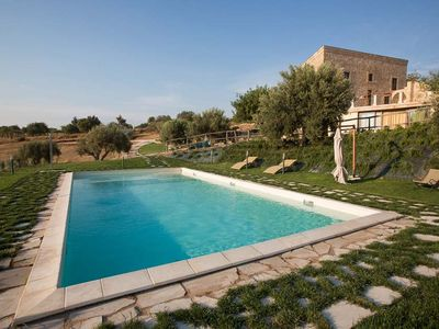 Photo for holiday vacation large villa rental italy, sicily, scicli, pool, WiFi, short term long term large villa to rent to let