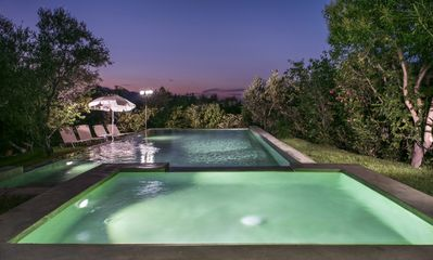 Photo for Majestic Villa ✩ Pool ✩ BBQ ✩ Sea & Mountain Views