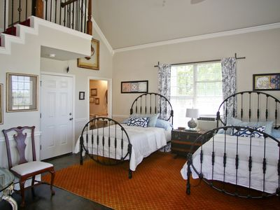 Photo for Cottage @ The Big Green House B&B-sleeps 10, private bath, 15 minutes to WinStar