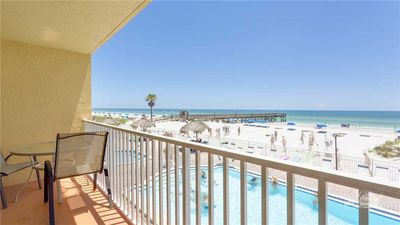 Photo for Charming Sand Dollar 111 is a GULF FRONT CORNER with lots of light!  NEW LISTING!