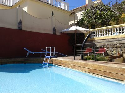 Photo for Beautifull Andalucian Villa with pool n private parking
