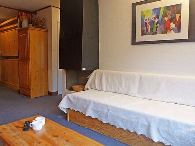 Photo for Apartment 318 m from the center of Tignes with Internet, Lift, Balcony (98709)