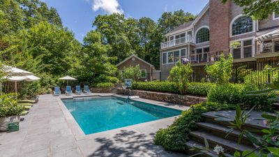 Photo for New Listing: Contemporary Elegance & Lush Greenery, Professionally Decorated Home w/ Luxe Amenities