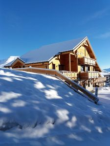 Photo for THE CHALET KRISSYANN - 100M SKIING - SOUTH FACING - 14 PEOPLE - 140 M2