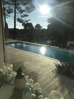 Photo for Villa with pool on the Labenne