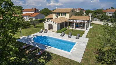 Photo for Villa Anita in Hrboki with Private Pool and Fenced Garden