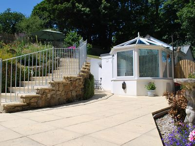 Photo for Luxury bungalow with outstanding countryside views. Ideal romantic getaway.