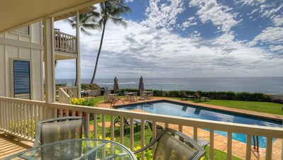 Photo for Alihi Lani 2:  2 Bedroom, 2 Bath Oceanfront!! Vacation On Kauai!!