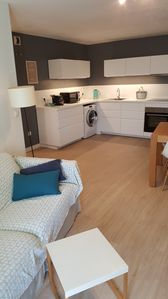 Photo for Beautiful contemporary apartment as new quiet and 5 minutes from the sea