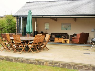 Photo for Luxury Holiday Cottage, Beach with Great Sea Views, Broad Haven, Pembrokeshire