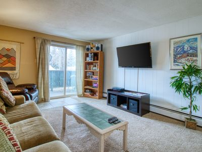 Photo for Cozy condo in a great location w/ a shared indoor pool, hot tub, & game room