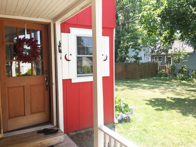 Entryway and yard