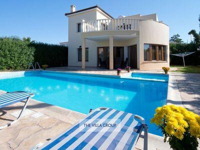 Photo for Argaka Villa, Sleeps 6 with Pool and Air Con