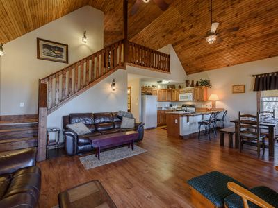 Photo for 3BR Mountain Home on Beech Mountain, Walk to Ski Slopes, Views, Club Privileges