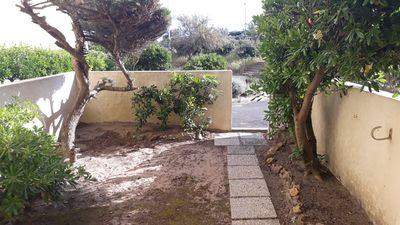 Photo for Studio of 28m² with enclosed garden facing the dunes, 50m from the beach with parking
