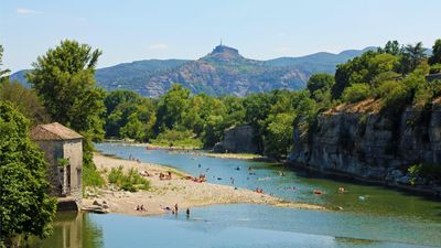 Photo for large 120m² apartment overlooking the Ardèche