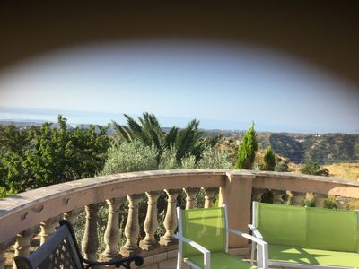 Photo for Mediterranean villa ,with splendid views of majestic mountains ,valleys and the