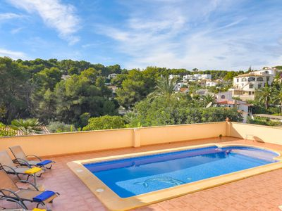 Photo for Nice holiday home with private pool between Moraira and Calpe