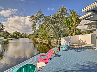 Photo for Wilton Manors Home on a Canal 10 Mins to Beach!