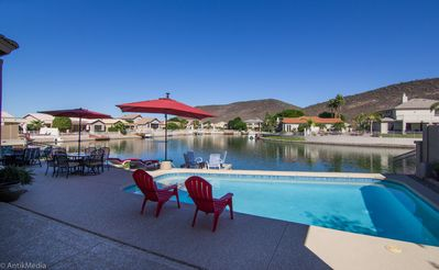 Photo for Lakefront Luxury Home Has Everything You Desire!  Your Greatest Vacation EVER!