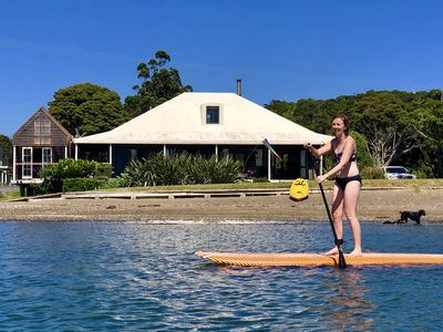 Photo for Stunning Beach-front house- Tutukaka harbour