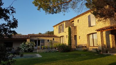 Photo for house with heated pool in the village of Gordes