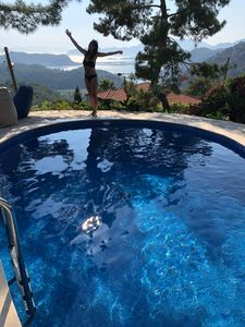 Photo for Villa kaplumba, 3 bed villa in village setting with views
